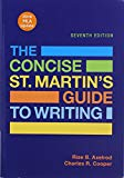 Concise St. Martin's Guide to Writing, MLA Update (2016) 7E & LaunchPad Solo for The Concise...