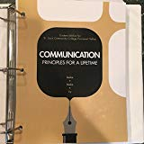 Communication Principles for a Lifetime (custom editon for St. Louis Community College)