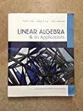 Linear Algebra and Its Applications (Custom Edition for BYU)