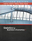 Statistics for Business & Economics, Revised (with XLSTAT Education Edition Printed Access C...