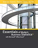 Essentials of Modern Business Statistics with Microsoft Office Excel (with XLSTAT Education ...