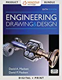 Bundle: Engineering Drawing and Design, 6th + LMS Integrated MindTap Drafting, 4 terms (24 m...