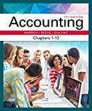 Bundle: Accounting, Chapters 1-13, 27th + CengageNOWv2, 2 terms Printed Access Card for Warr...