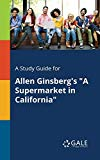 A Study Guide for Allen Ginsberg's