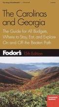 Fodor's the Carolinas and Georgia