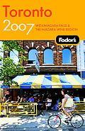 Fodor's 2007 Toronto With Niagara Falls & the Niagara Wine Region