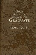 God's Answers for the Graduate: Class of 2013 - Brown: New King James Version