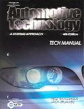 Tech Manual To Accompany Automotive Technology A Systems Approach