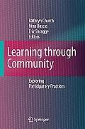 Learning through Community