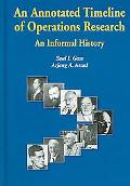 Annotated Timeline of Operations Research An Informal History