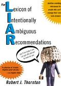 Lexicon of Intentionally Ambiguous Recommendations Positive-Sounding References for People W...