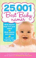 25,001 Best Baby Names, 2E