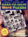 Giant Book of Hard-to-Solve Word Puzzles/Giant Book of Hard-to-Solve Mind Puzzles: Flip Book