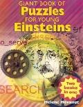 Giant Book of Puzzles for Young Einsteins/Giant Book of Whodunit Puzzles: Flip Book