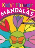 Kids' Flower Mandalas
