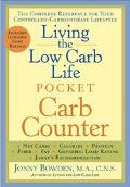 Living the Low Carb Life Pocket Carb Counter The Complete Reference for Your Controlled-carb...