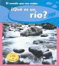 Que Es Un Rfo?/what Is A River?
