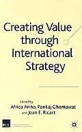 Creating Value Through International Strategy