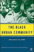 Black Urban Community From Dusk Till Dawn