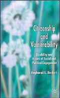 Citizenship And Vulnerability Disability And Issues of Social And Political Engagement