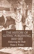 History of Gothic Publishing 1800-1835 Exhuming the Trade