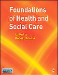 Foundations of Health and Social Care