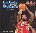 Lebron James Basketball Star - Estrella del Baloncesto