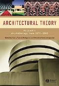 Architecture in Theory 1870-2000, Vol. 2