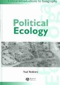 Political Ecology A Critical Introduction