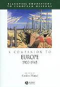 Companion to Europe 1900-1945