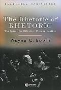 Rhetoric of Rhetoric The Quest for Effective Communication