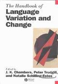 Handbook of Language Variation and Change