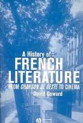 History of French Literature From Chanson De Geste to Cinema
