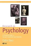 Research in Psychology A Practical Guide to Research Methods And Statistics.