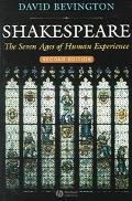 Shakespeare The Seven Ages Of Human Experience