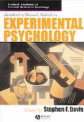 Handbook Of Research Methods In Experimental Psychology