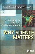 Why Science Matters Understanding the Methods of Psychological Research