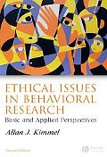 Ethical Issues in Behavioral Research Basic And Applied Perspectives