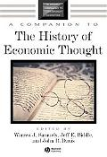 Companion To The History Of Economic Thought