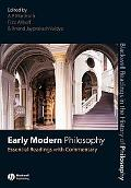 Early Modern Philosophy Essential Readings With Commentary