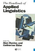 Handbook of Applied Linguistics