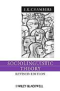 Sociolinguistic Theory