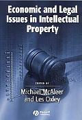 Economic, Legal Issues in Intell Property
