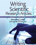 Writing Scientific Research Articles: Strategies and Steps