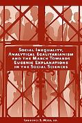 Social Inequality, Analytical Egalitarianism and the March Towards Eugenic Explanations in t...