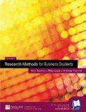 Research Methods for Business Students: AND Onekey Website Saunders Research Methods Access ...