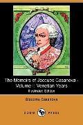 The Memoirs Of Jacques Casanova - Volume I