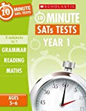 Grammar, Reading and Maths Year 1 (10 Minute SATs Tests)