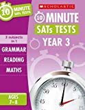 Grammar, Reading and Maths Year 3 (10 Minute SATs Tests)