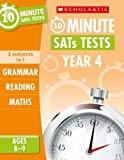 Grammar, Reading and Maths Year 4 (10 Minute SATs Tests)